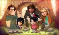 Disney Falls - disney fan art