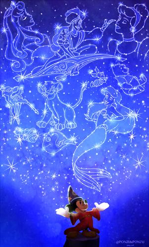 Disney fond d'écran titled Disney Magic