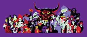 डिज़्नी Villains Banner