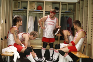 Dodgeball with 1D