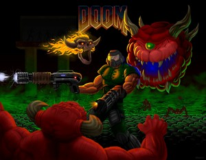 Doom Genesis por Kracov