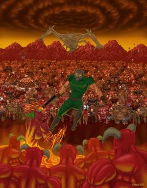 Doom Hell Scene