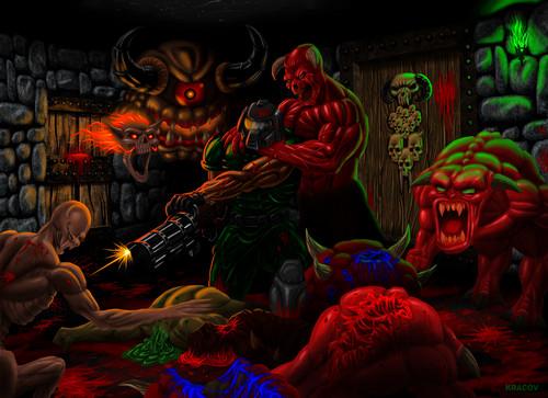 DOOM Wallpaper Entitled Doom Unto The Cruel
