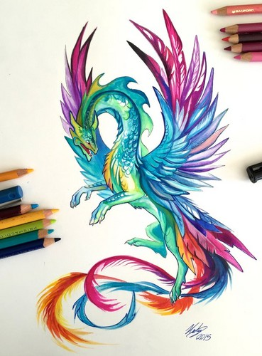 ड्रॅगन्स वॉलपेपर titled Dragon Artwork