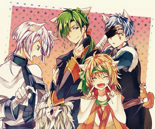 anime achtergrond with anime entitled Akatsuki no Yona - Dragon Warriors - Neko :3