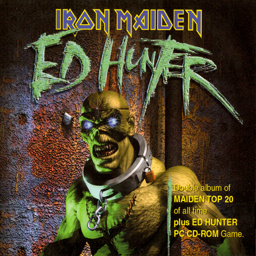 Iron Maiden wallpaper containing anime called Ed Hunter