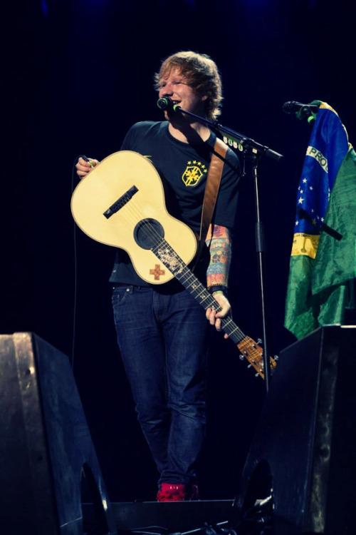 Ed in Brazil