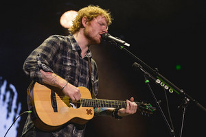 Ed onstage in Austin,Texas