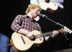 Ed onstage in Tulsa