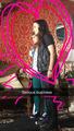 Elise and Natasha on the set of Carmilla S2 (via snapchat)