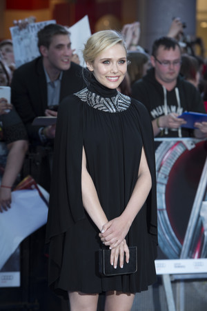 Elizabeth Olsen Red Carpet at Avengers Age of Ultron UK Premiere