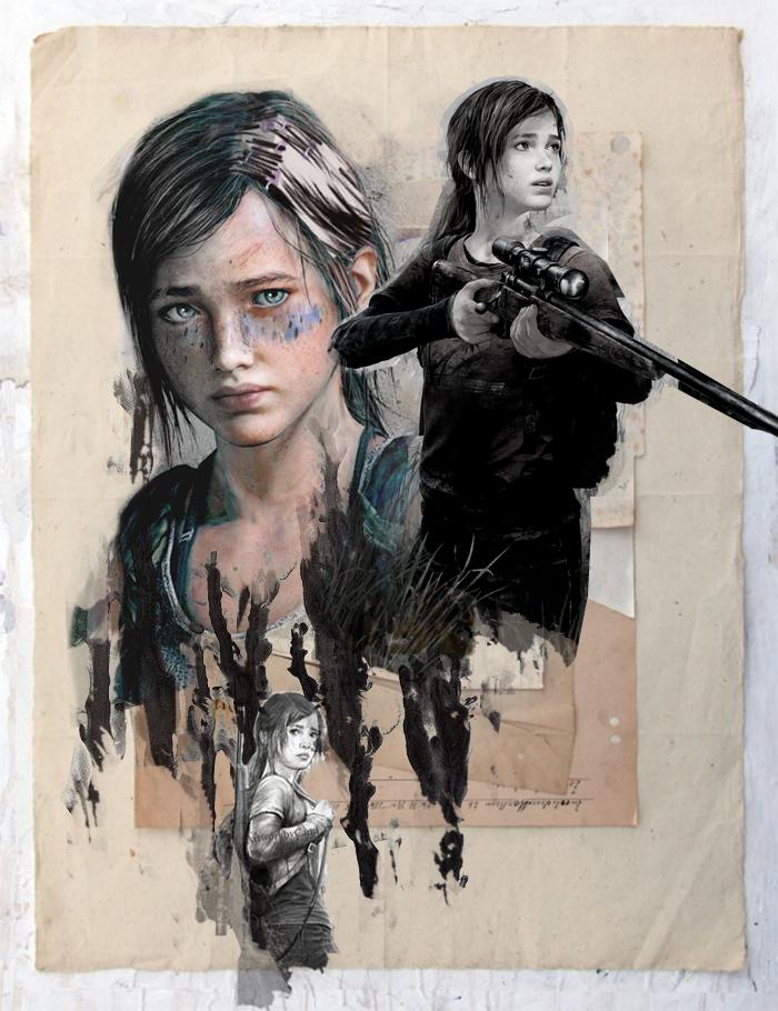 Ellie The Last Of Us Ps3 Fan Art 38444738 Fanpop