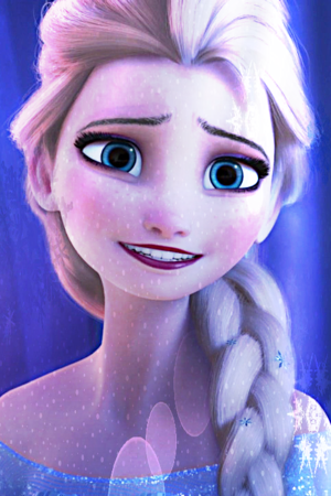 Elsa iPhone 4 Background