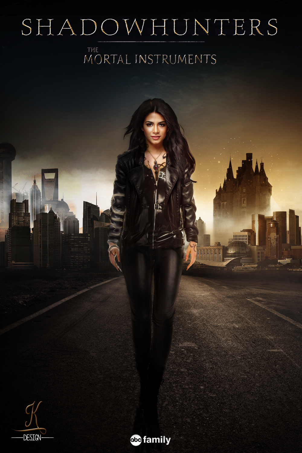 Emeraude Toubia as Isabelle - Shadowhunters TV Show Fan ...