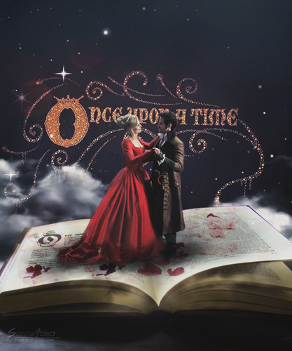 Once upon a time images emma and hook wallpaper and background photos