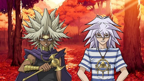 Yugioh The Abridged Series দেওয়ালপত্র possibly with জীবন্ত entitled Evil Duo