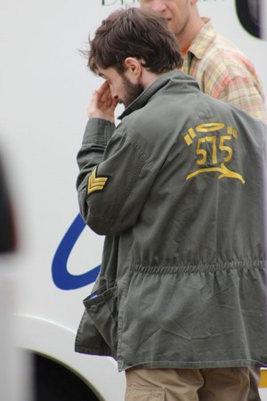 Ex:Daniel Radcliffe at Shooting of Game Changer Previously GTA (Fb.com/DanieljacobRadcliffeFanClub)