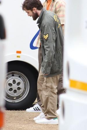 Ex:Daniel Radcliffe at Shooting of Game Changer Previously GTA (Fb.com/DanieljacobRadcliffeFanClub)
