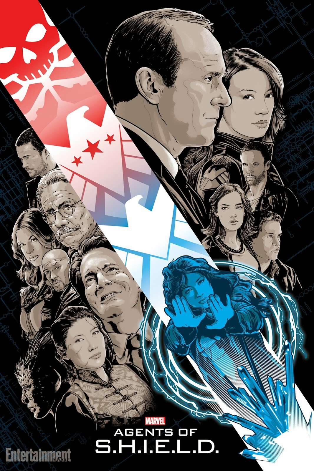 Agents Of Shield Images Exclusive Fanart Posters Hd Wallpaper