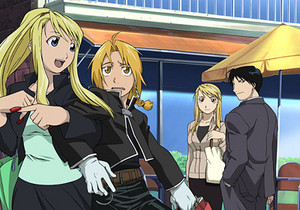 FMA gang in the regular world