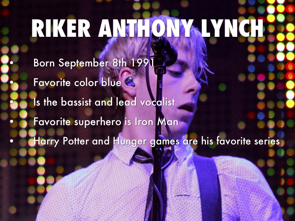 Riker Lynch Facts