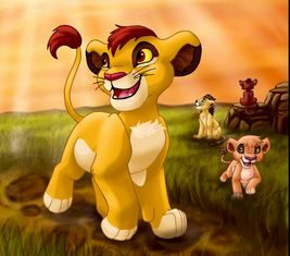 The Lion King wallpaper possibly with anime called Fan art