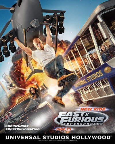 Fast and Furious wallpaper containing anime called Fast and Furious Supercharged Ride at Universal Studios