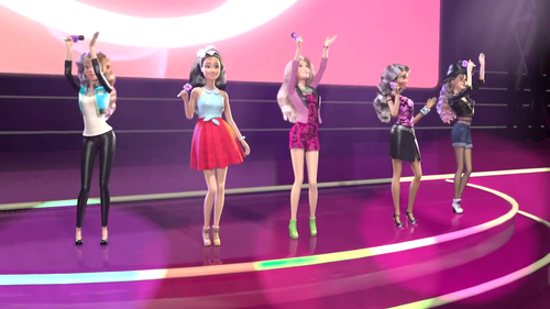 películas de barbie fondo de pantalla titled Fifth Harmony in Life in The Dreamhouse Sister's Fun día Special Episode