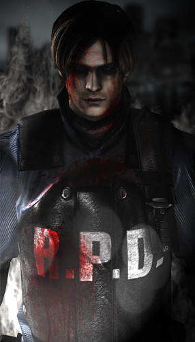Leon Kennedy 바탕화면 containing a rifleman, a navy seal, and a green 베레모, 베 레모 entitled Fight to the End