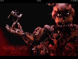 Five nights at Freddy 4 final chapter