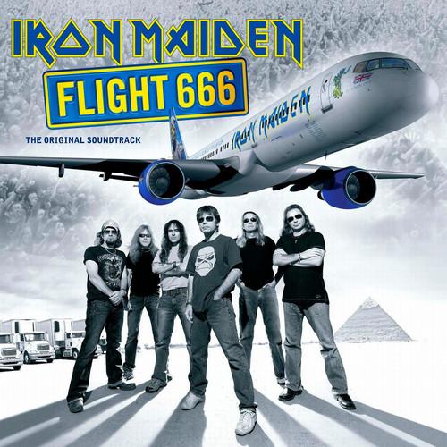Iron Maiden wallpaper entitled Flight 666