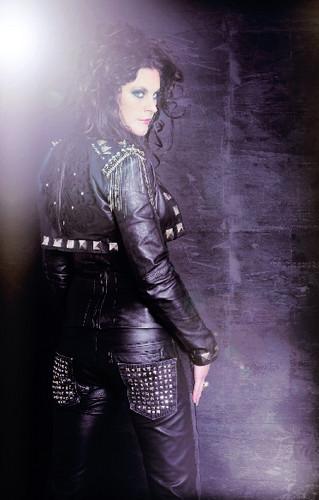 Nightwish wallpaper entitled Floor Jansen edit by me