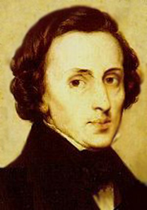 Frédéric François Chopin( 22 February 或者 1 March 1810 – 17 October 1849)
