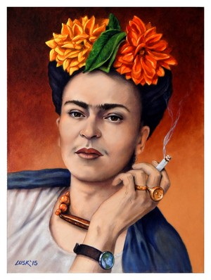 Frida in Repose