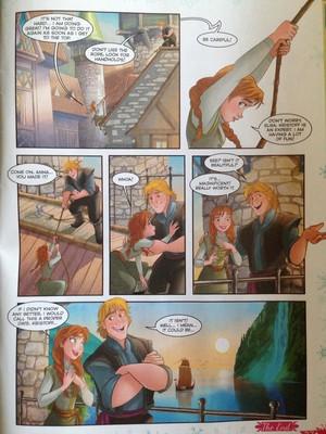 ফ্রোজেন - Climbing High Comic