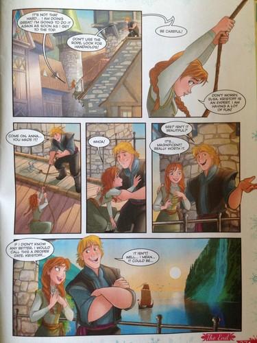 комиксы эльза и анна