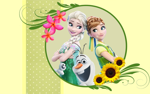 Frozen Fever wallpaper called Frozen Fever Wallpaper