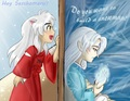 Frozen inuyasha - sesshomaru-and-inuyasha photo