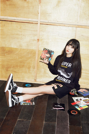 G-friend Yuju for CeCi Magazine April 2015