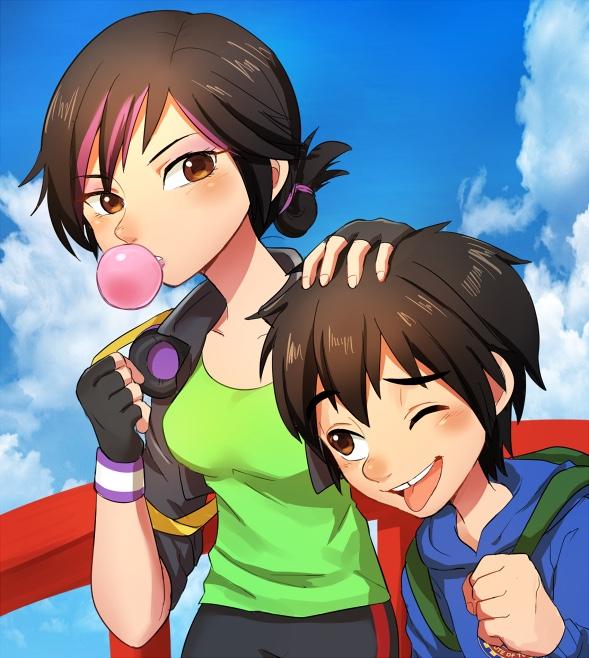 Hiro And Gogo Fanart GoGo and Hiro -...