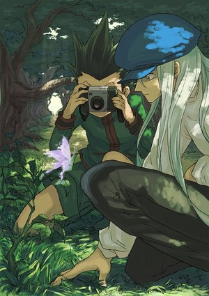Gon and drachen, kite