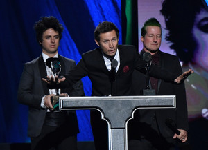 Green dia Speaking @ the 30th Annual Rock And Roll Hall Of Fame Induction Ceremony