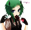 Gumi poker face  - gumi-vocaloids photo