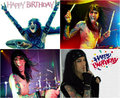 HAPPY BIRTHDAY CC ~April 21, 1985 - black-veil-brides fan art