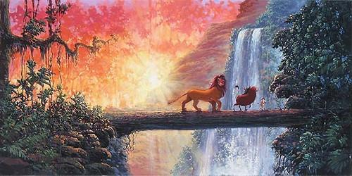 the lion king wallpaper titled Hakuna Matata oleh Rodel Gonzales