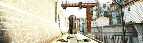 Half Life wallpaper possibly containing a penal institution, a penitentiary, and a railroad tunnel called Half-Life 2 - Route Kanal