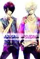 Handsome azusa and tsubaki