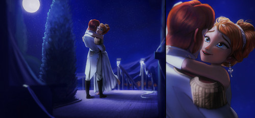 Hans wallpaper entitled Hans and Anna