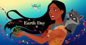 Happy Earth ngày from Pocahontas