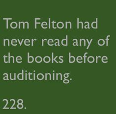 Harry Potter Fact 228